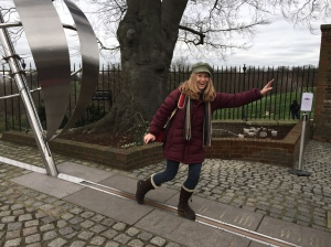 Me on the meridian!