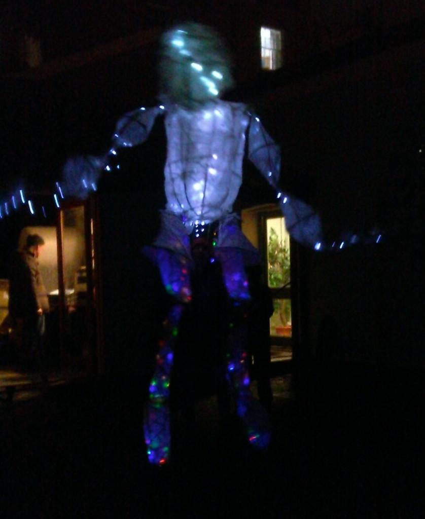 The Soundbeam dancing giant