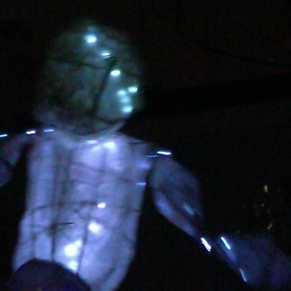 Soundbeam dancing giant