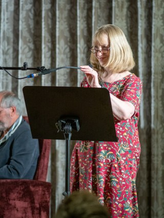 eading my piece at the launch of the Fish Anthology in July 2019