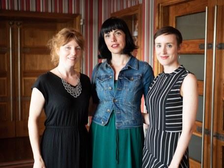 Liz Berry, Doireann Ni Ghriofa and Jessica Traynor